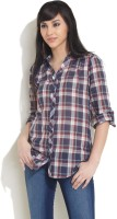 Recap Women's Checkered Casual Shirt