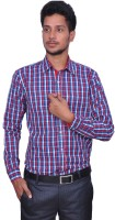 Leaf Men's Checkered Formal Shirt