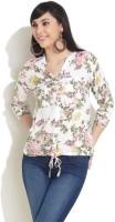 Recap Women's Floral Print Casual Shirt