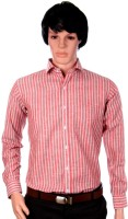 J Marks Men's Striped Formal Shirt
