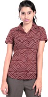 Eighteen27 Women's Geometric Print Casual, Party Shirt