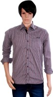J Marks Men's Checkered Formal Shirt