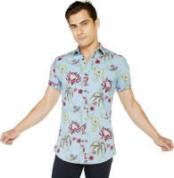 Globus Men's Printed Casual Shirt