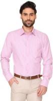 Markrich Men's Striped Formal Shirt