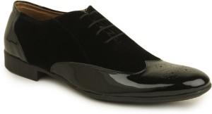 Metrogue Brogue Lace Up Shoes