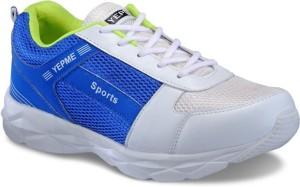 Yepme Men - White & Blue Walking Shoes