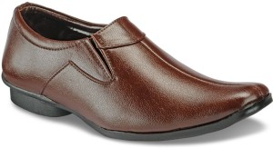Yepme Men - Brown Slip On Shoes