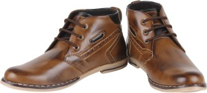 Buenos Two Tone Boots Boots