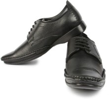 Fortune Lsr-26-Black Lace Up Shoes
