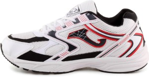 Rocks White Running Shoes