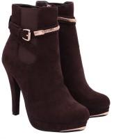 Gossip Brown Boots