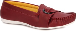 Latest Maroon Loafers