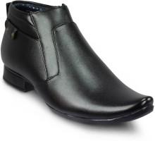 Trwad Black Slip On Shoes
