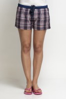 Oxolloxo Checkered Women's Basic Shorts