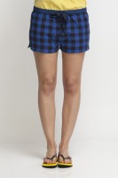 Oxolloxo Checkered Women's Basic Shorts