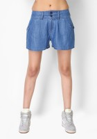 Tarama Solid Women's Denim Shorts