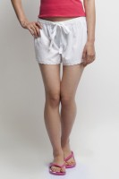 Oxolloxo Solid Women's Basic Shorts