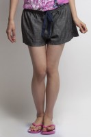 Oxolloxo Solid Women's Basic Shorts