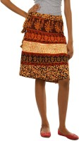 Fashiana Printed Women's Wrap Around Skirt