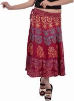 Indi Bargain Animal Print, Floral Print, Printed Women's Wrap Around Skirt