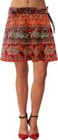 Sttoffa Animal Print Women's Wrap Around Skirt