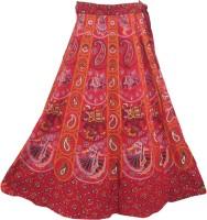 Indiatrendzs Animal Print Women's Wrap Around Skirt