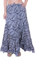 Krazzy Collection Printed Women's Tiered Skirt