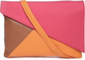 DressBerry Women Casual Pink Leatherette Sling Bag - Rs 1026 ...
