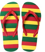 Funtoes Multi Stripe Flip Flops