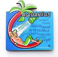 Homeblendz Aquarius Fridge Magnet Sticker