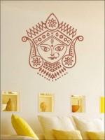 Wall1ders Nav Durga PVC Vinyl Sticker Pack of 1