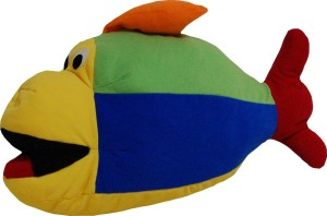 Surbhi Fish - 30 cm Multicolor