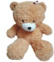 MFT Girl Bow Teddy M - 36 inch Brown