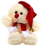 Tokenz Sweet Santa Claus / Soft Toys - 10 inch Beige, Red