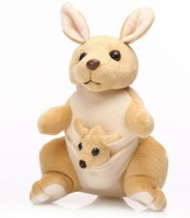 Tabby Toys Kangaroo Soft With Baby In Pouch - 35 cm Brown