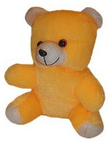 Shree Krishna Teddy Bear - 9 inch Yellow, White