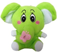 SCG Gift This Small Ganesh Soft Toy - 20 cm Green