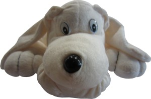 Acctu Dog Promo - 11.8 Inch Off White