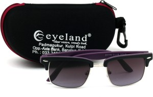 Eyeland Rectangular Sunglasses