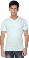 Vettorio Fratini By Shoppers Stop Printed Men's V-neck T-Shirt