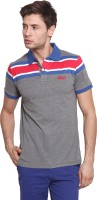 Classic Polo Striped Men's Polo Neck T-Shirt