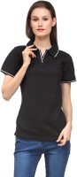 Scott International Solid Women's Polo T-Shirt