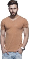 Tinted Solid Men's V-neck T-Shirt