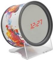 Aptron Look Twice Digital Clock Silver