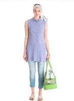 Nishka Lulla for Stylista Casual Sleeveless Solid Women's Top