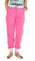 Colors & Blends Solid Women's Track Pants
