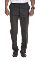 Windover Charcoal Regular Fit Men's Trousers