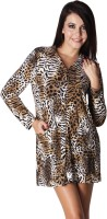 Trendy Divva Animal Print Women's Tunic