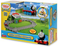 Fisher-Price Thomas The Train - Take-n-Play Thomas at The Sodor Lumber Mill Multicolor