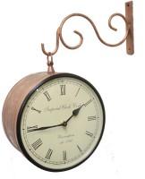 Prachin Street12 inch Analog Wall Clock Brass